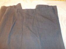 haggar imperial 40 x 27 no cuffs 100% worsted wool #427