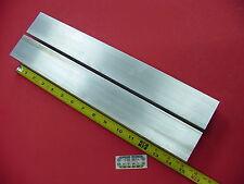 "2 Pieces 2"" X 2"" ALUMINUM 6061 SQUARE BAR 15"" long T6511 2.00"" Solid Flat Stock"