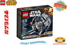 LEGO Star Wars 75128 TIE Advanced Prototype 93 pcs Ages 6-12 + FREE BONUS *NEW*