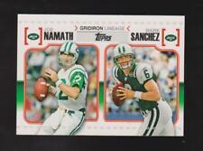 2010 Topps #GL-NS Joe Namath / Mark Sanchez card, New York Jets