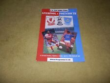 Liverpool v Portsmouth in 1992 FA Cup Semi-Final at Highbury