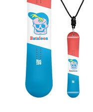 Miniboard BATALEON Riot big 10/11 CLASSIC Snowboard als Halskette C01