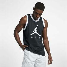 Nike Jordan Jumpman Air Mesh Jersey Tank Black White Ar0026 Xl