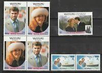 Tuvalu Vaitupu 1986 Royal Wedding Prince Andrew Sarah postfrisch 289