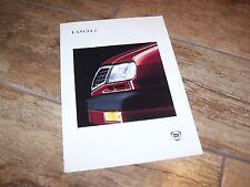 Prospectus / Brochure LANCIA Delta (incl: HF Turbo) 1994 / 1995  //