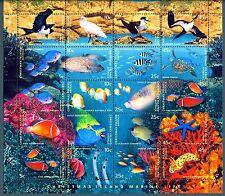 CHRISTMAS ISLAND - 1998 - Fauna marina dell'Isola