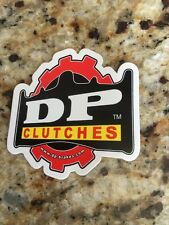 DP CLUTCH RACING DECAL STICKER EMBLEM TRX450R LTR450R KFX400 TRX250R YFZ450R EXC