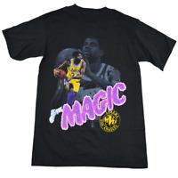 90s Vintage Magic Johnson Los Angeles Men's T Shirt Reprint All Size S-4XL A1349