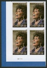#5259 Lena Horne, Plate Block [Ll], Mint *Any 4=Free Shipping*
