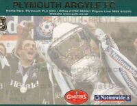 Ticket - Plymouth Argyle v Queens Park Rangers 18.01.03