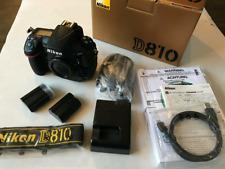 Nikon D810 FX 36.3MP Appareil photo reflex numérique Parfait état 143 obturateur