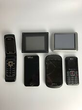 iPhone Nokia Doubleplay Boost mobile Phones Garmin And Digital Picture Frame Lot