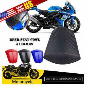 Rear Seat Pillion Cowl Cover Fairing For Suzuki GSXR600 GSXR750 2011 2012 2013 2014 2015 2016 K11 Blue