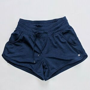 Layer8 Girls XS Blue Athletic Shorts Lined Adjustable Waist Side Pockets