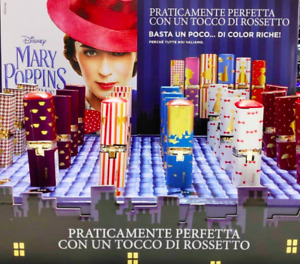 100% Authentic Limited Disney Mary Poppins Lipstck Pick 1 Shade New In Box