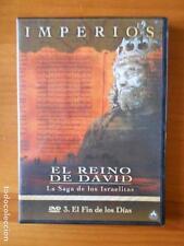 DVD IMPERIOS EL REINO DE DAVID LA SAGA DE LOS ISRAELITAS 3 EL FIN DE DIAS (J3)