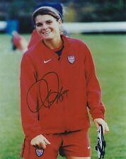 Signed Mia Hamm autograph 8x10 photo Usa Soccer Washington Freedom Proof! Coa