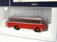 Norev 1/43 - Bus Car Panhard K173 1949 Rouge
