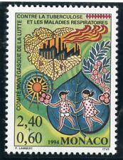 TIMBRE DE MONACO N° 1931 ** LUTTE CONTRE LA TUBERCULOSE