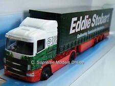 EDDIE STOBART SCANIA LORRY MODEL CORGI TY86646 GREEN/WHITE 1/64 ISSUE T3412Z(=)