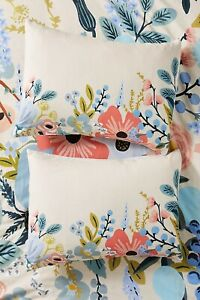 NEW Rifle Paper Co. for Anthropologie Garden Party Sham