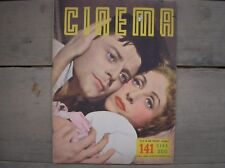 GERARD PHILIPE DARRIEUX LE DIABLE AU CORPS 141 RIVISTA CINEMA 1954 MAG ITALY