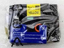 2 Stück Schriftband kompatibel zu Brother TZe-641 schwarz auf gelb NEU