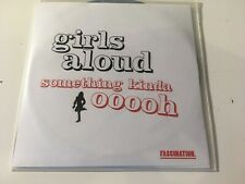 Girls Aloud 1trk PROMO CD Something Kinda Ooooh (ACETATE)