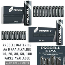 DURACELL PROCELL INDUSTRIAL AA & AAA ALKALINE BATTERIES LR03 LR6 EXPIRY 2026