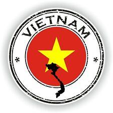 Vietnam Sello Sello Pegatina para Coche Camión Portátil Nevera Puerta