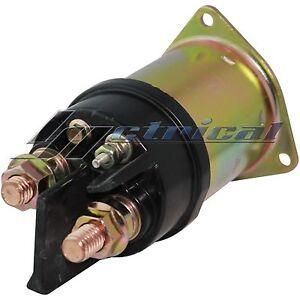 STARTER SOLENOID Fits FREIGHTLINER HD Detroit Diesel Engines 11.1L, 12.7L 86-93