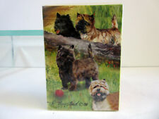 New Cairn Terriers Dog Poker Playing Card Deck of Card By Ruth Maystead Terrier