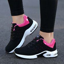 Contrast Color Stylish Women Sneakers - Black/Rose (SPJ122560)