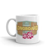 Longboard Tabla De Surf Alta Calidad 10oz Té Café Taza #4466