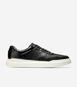 Men's Cole Haan GrandPrø Rally Court Sneaker Black-White Size 9