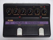 Vintage Pearl CE-22 Chorus Ensemble Chorus/Vibrato Guitar Effect Pedal