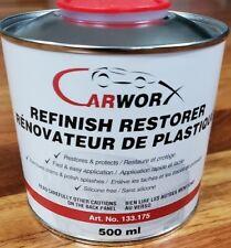 Chevy Avalanche Cladding Refinish Restorer Plastic Restorer-500mL- CarWorx