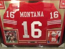 Joe Montana HOF Signed Autographed Framed Jersey PSA/DNA Authenticated Jersey