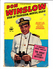 Don Winslow   No.66     :1951 :     : Sci-Fi Story! :      : Photo Cover! :
