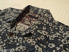 """TED BAKER Mens Shirt🌍 Size 1 (36"""" CHEST) 🌎 RRP £110+ 📮 FANTASTICALLY FLORAL!!"""