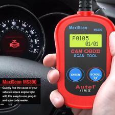Autel MS300 Universal OBD2 Scanner Car Code Reader Read & Erase Fault Codes n8