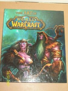 The Art of The World of Warcraft 2005 HardCover Book Brady Games Pearson Edu NEW