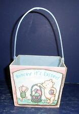 Midwest of Cannon Falls Classic Pooh Easter Basket- 242872- New; Damaged