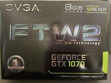 EVGA 08G-P4-6676-KR GeForce GTX 1070 8GB GDDR5 RGB LED Graphic Card