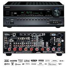 Onkyo TX-NR708 7.2 Home Cinema Theatre 3D AV Network HD Receiver 8x HDMI THX USB
