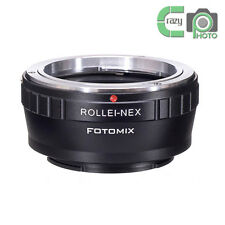 QBM-NEX for Rollei SL 35mm Lens to Sony E Mount Adapter A7 A7R 5T 6 A6000 A6500