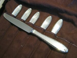 "Alvin Sterling Silver SOUTHERN CHARM 8 7/8"" New French Hollow Knife, No Monos"