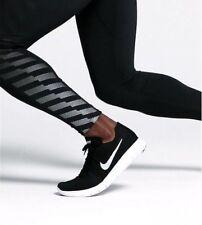 UK 11 Nike Free RN Flyknit 2017 Herren Running Gym Turnschuhe EU 46 (880843 001)