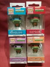 Funko 4 x set Pocket Pop Keychain Teenage Mutant Ninja Turtles