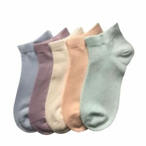 SERISIMPLE Bamboo Ankle Socks Athletic Thin Sock Odor Resistant softy 5 pairs